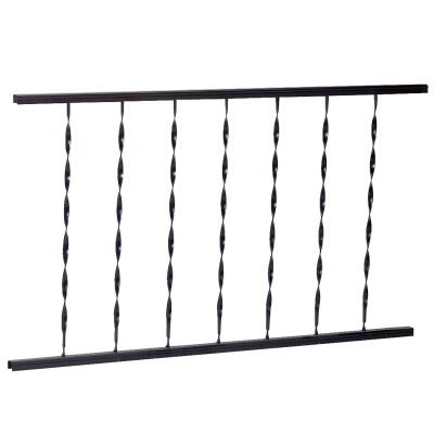 Gilpin Windsor 32 In. H x 4 Ft. L. Wrought Iron Railing