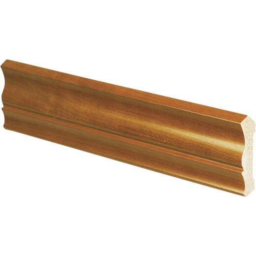 Inteplast Building Products 1/2 In. W. x 3-3/16 In. H. x 8 Ft. L. Independence Cherry Polystyrene Crown Molding