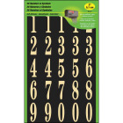 Hy-Ko 2 In. Polyester Adhesive Number Set, 36 Numbers Image 1