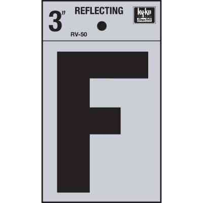 Hy-Ko Vinyl 3 In. Reflective Adhesive Letter, F