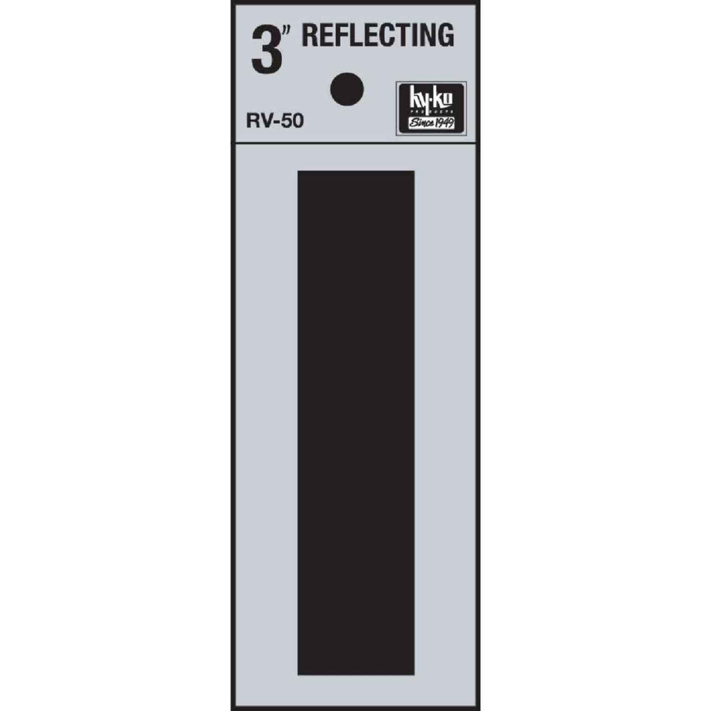 Hy-Ko Vinyl 3 In. Reflective Adhesive Letter, I Image 1