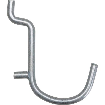 1 In. Curved Pegboard Hook (6-Count)