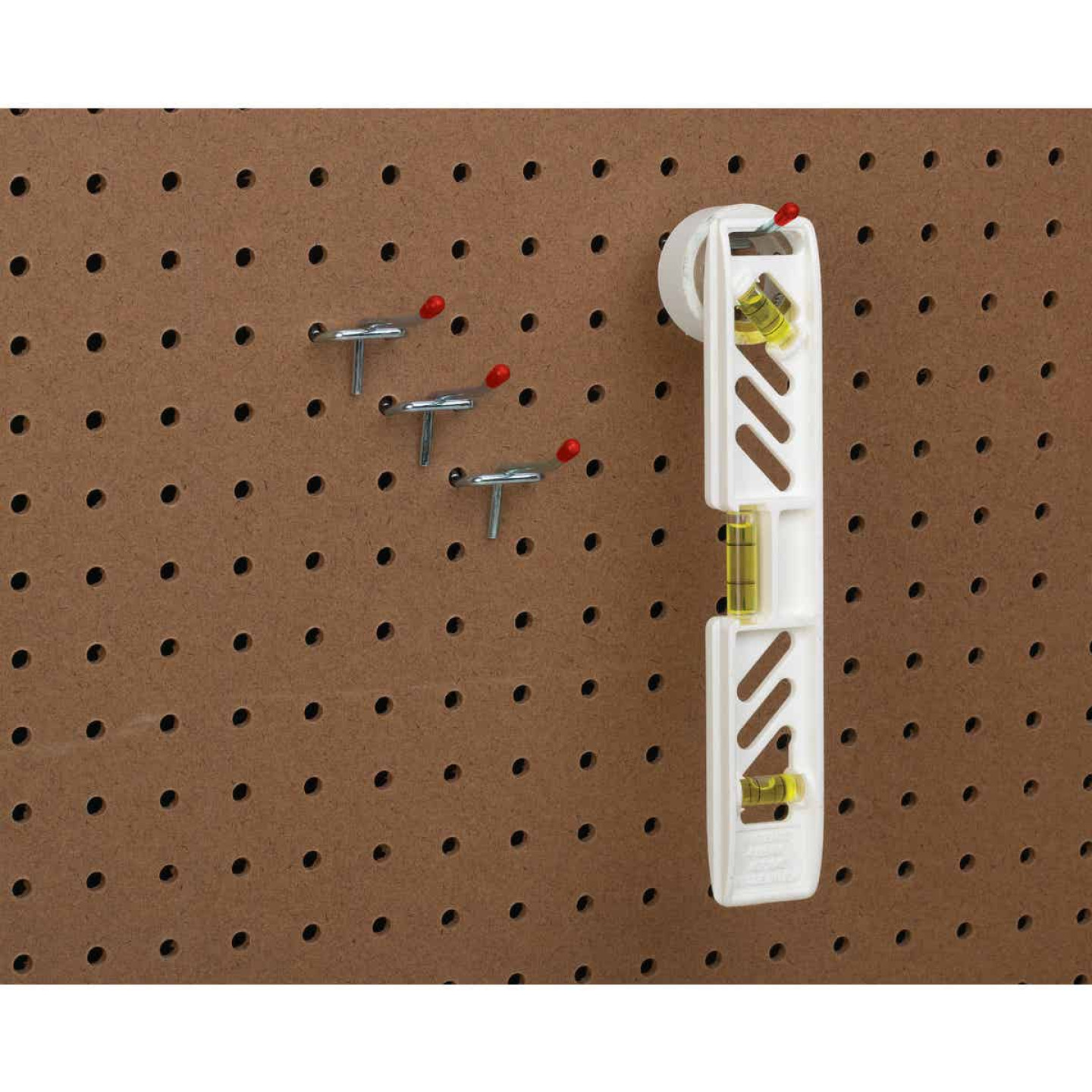 2 In. Light Duty Safety Tip Straight Pegboard Hook (4-Count) Image 2