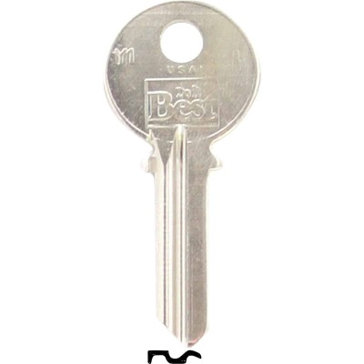 Do it Best Yale Nickel Plated House Key, Y1 (10-Pack)