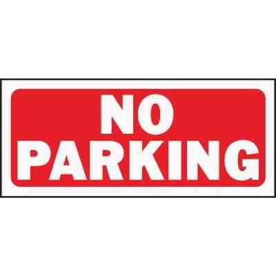 Hy-Ko Plastic Sign, No Parking