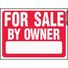 Hy-Ko Plastic Sign, For Sale By Owner Image 1