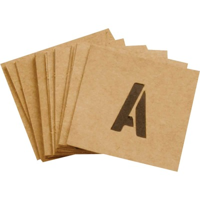 Hy-Ko 1 In. Letter, Number & Symbol Stencil Set