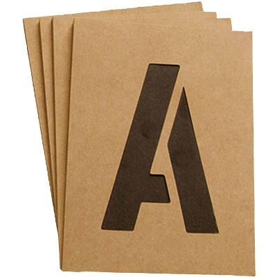 Hy-Ko 2 In. Letter, Number & Symbol Stencil Set