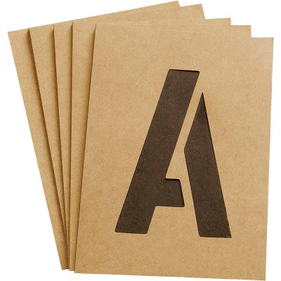Hy-Ko 4 In. Letter, Number & Symbol Stencil Set