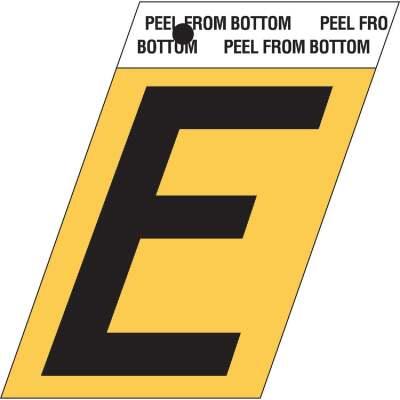 Hy-Ko Aluminum 1.5 In. Self-Adhesive Letter, E