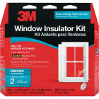 3M Indoor 62 In. x 84 In. Window Insulation Kit, (2-Pack) Image 1