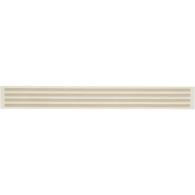 Smart Edge 0.27 In. x 18 In. Peel & Stick Edge Backsplash Trim, Panella (4-Pack)