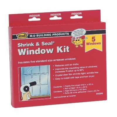 M-D  210 In. x 62 In. Indoor Window Insulation Kit