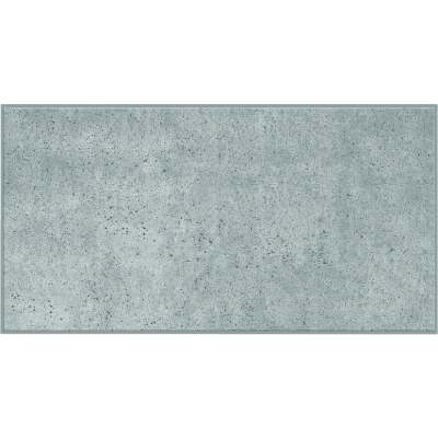 Smart Tiles Approx. 11 In. x 22 In. Glass-Like Vinyl Backsplash Peel & Stick, Blok Light Gray XL (2-Pack)