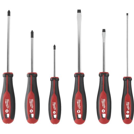 Milwaukee Slotted & Phillips Screwdriver Set (6-Piece)