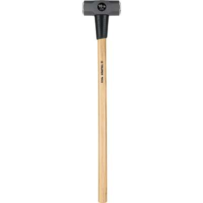 Truper 10 Lb. Double-Faced Sledge Hammer with 36 In. Hickory Handle