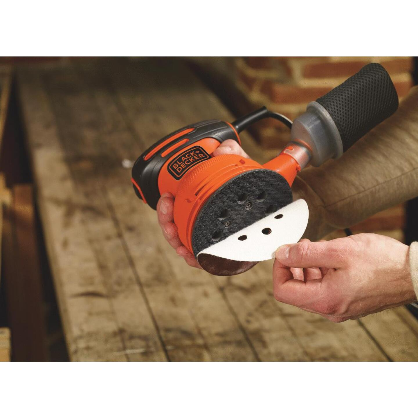Black & Decker 5 In. 2.0A Random Orbit Finish Sander Image 5