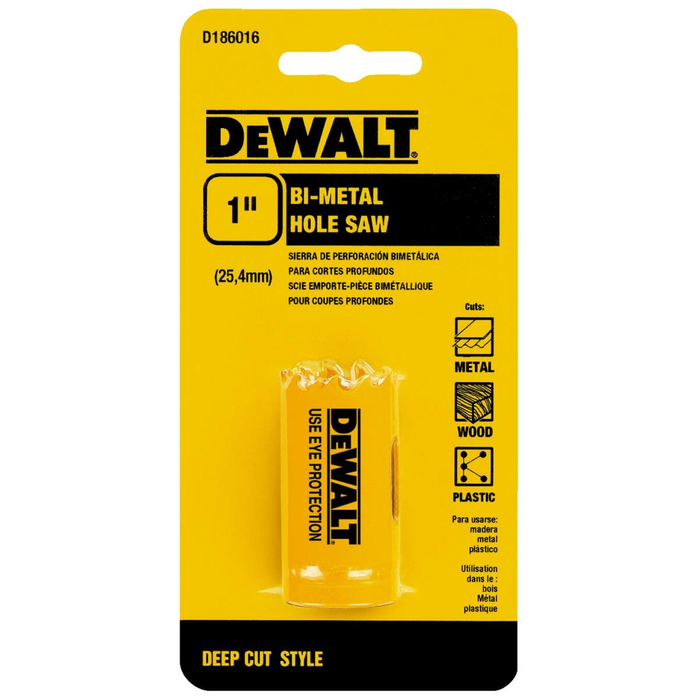 DeWalt 1 In. Bi-Metal Hole Saw Image 2