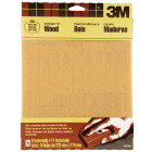 3M Bare Wood 9 In. x 11 In. 220 Grit Very Fine Sandpaper (5-Pack) Image 1