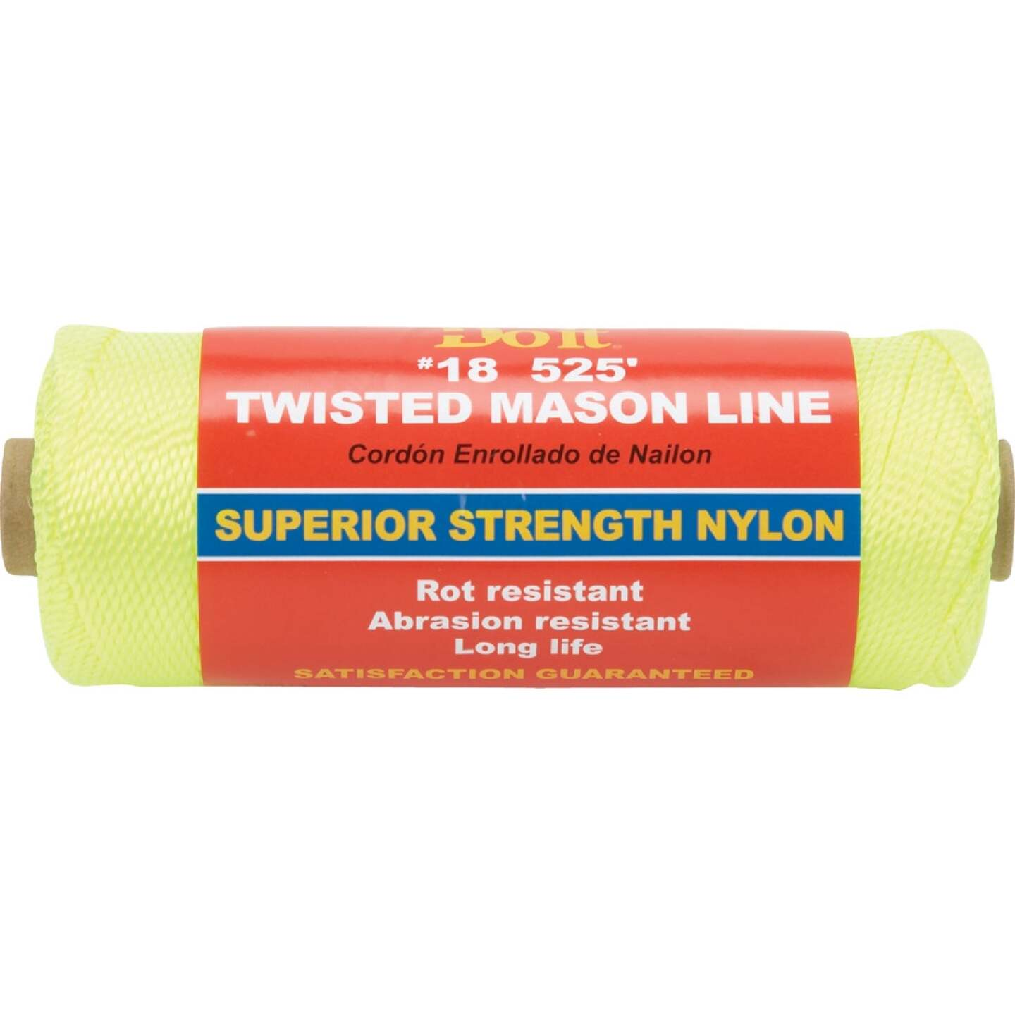 Do it 525 Ft. Fluorescent Yellow Twisted Nylon Mason Line Image 1