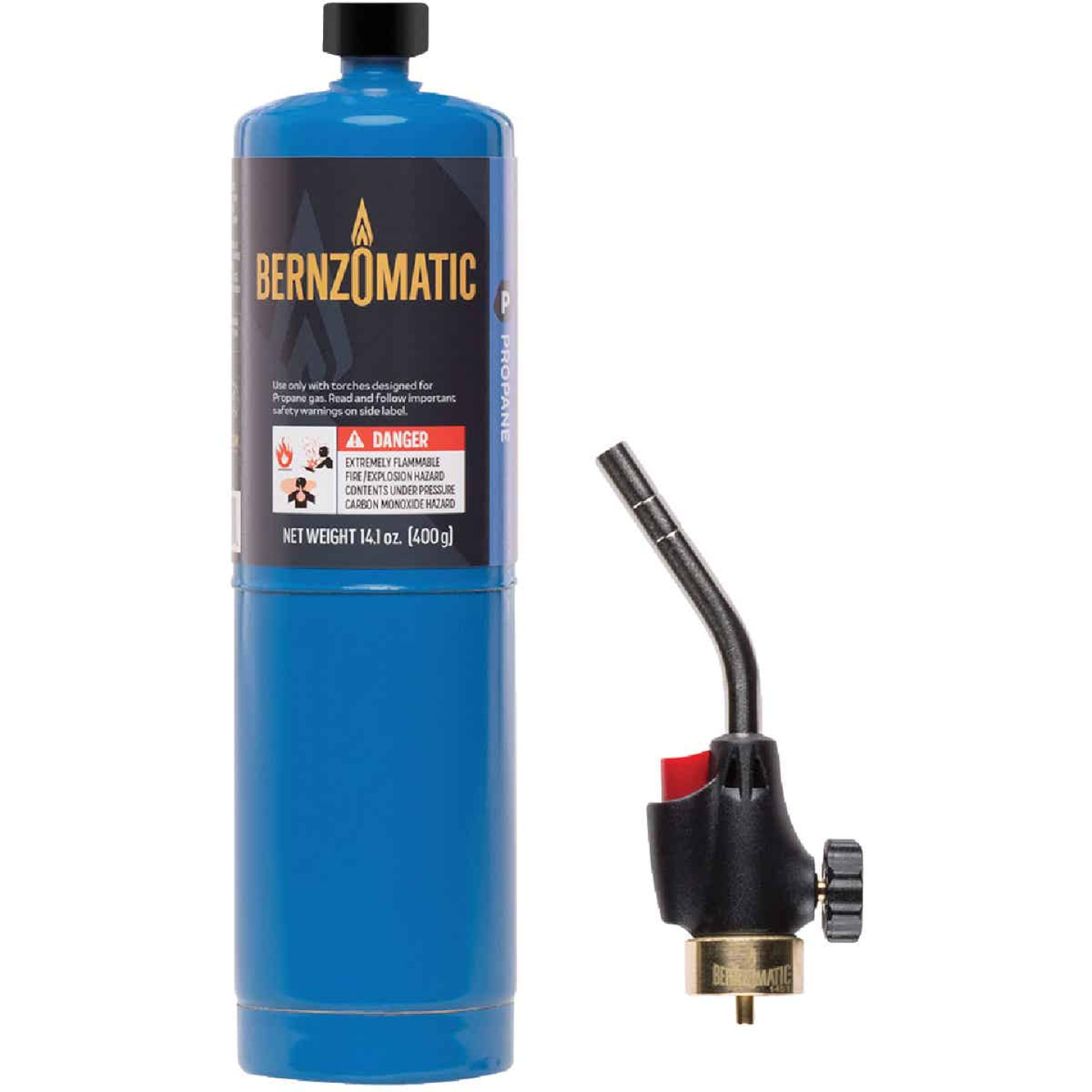 Bernzomatic Basic Propane Torch Kit with Built-In Ignition Image 1