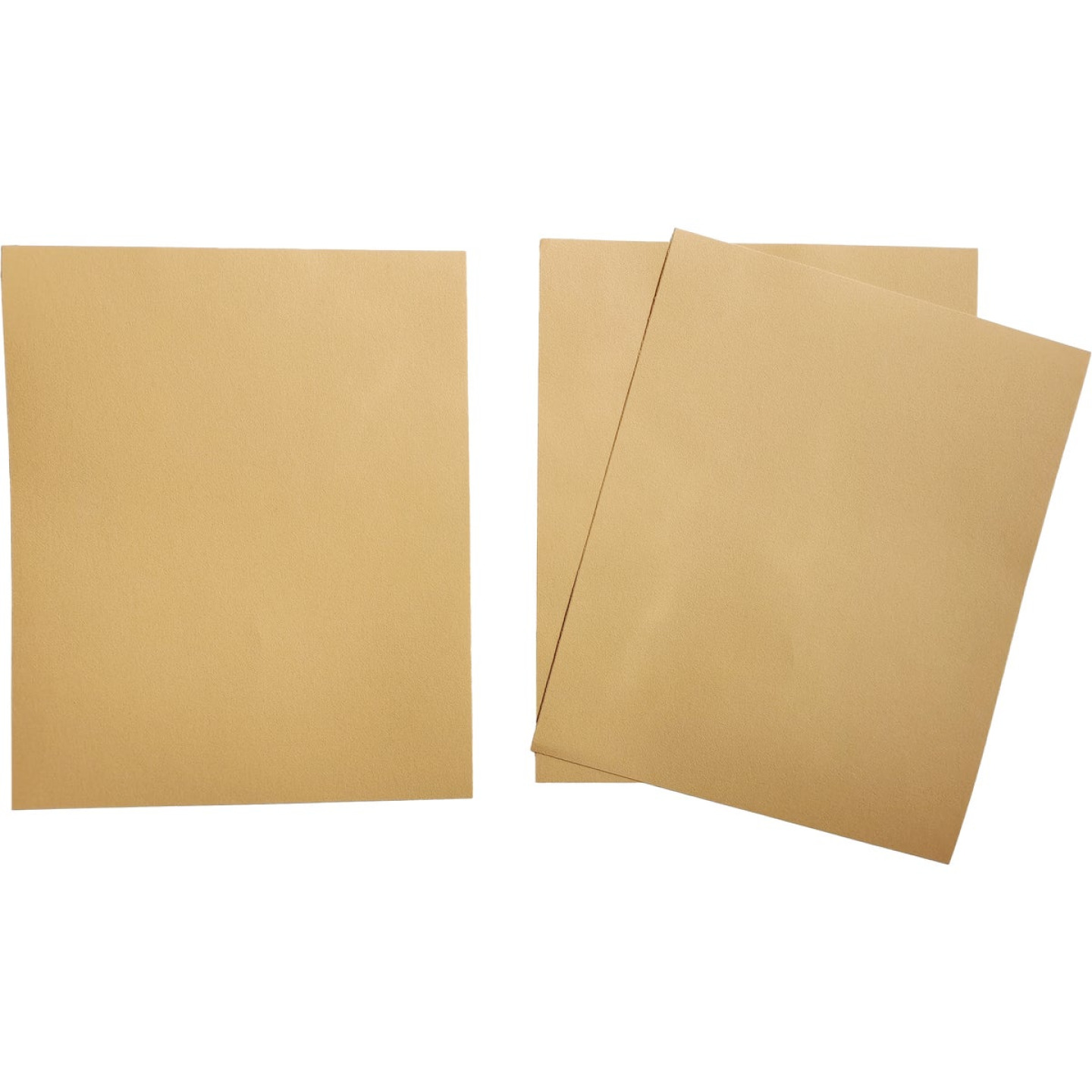 Boss Premium 9 In. x 11 In. 180 Grit Medium Sandpaper (3-Pack) Image 2