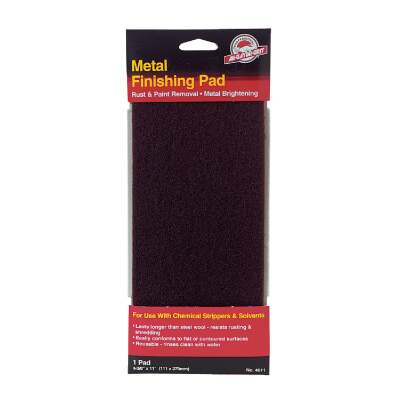 Do it Best 4-3/8 In. x 11 In. Metal Finishing Pad