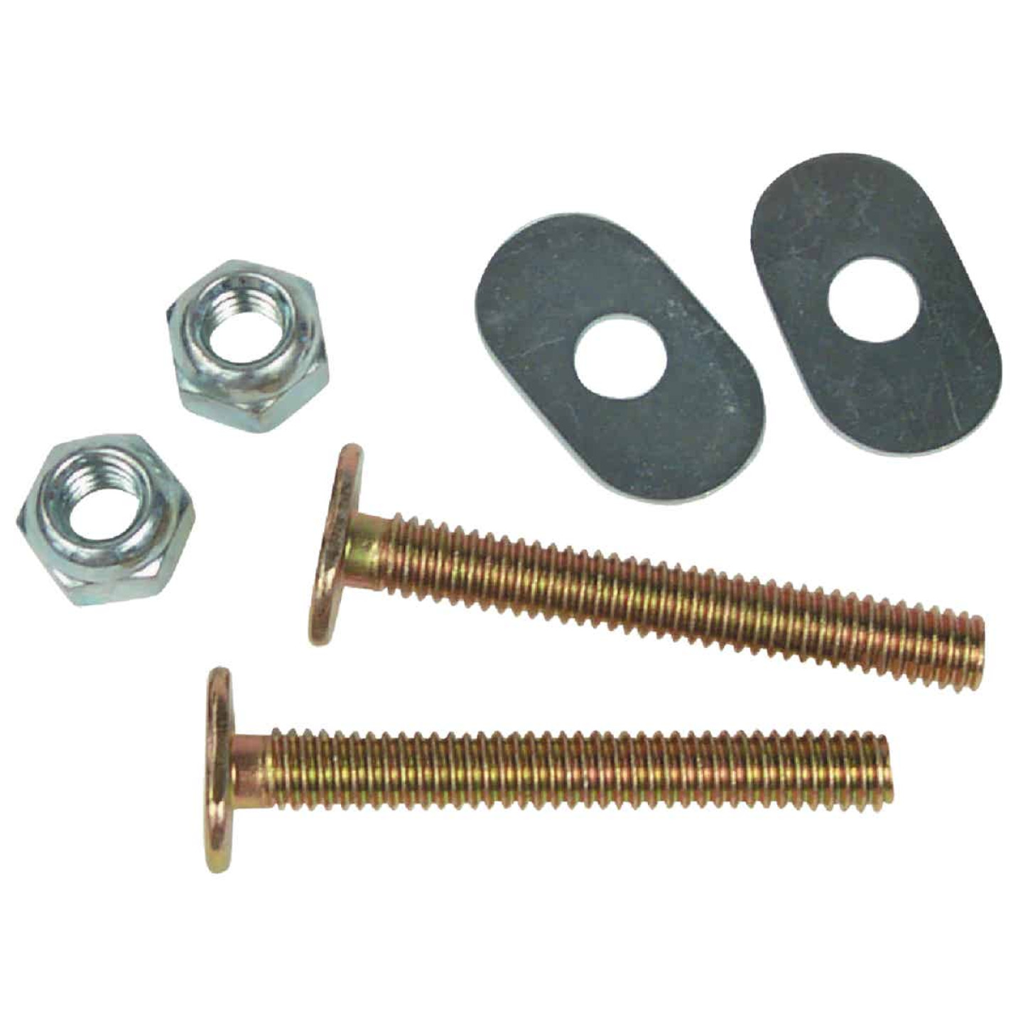 Do it 1/4 In. x 2-1/2 In. Brass Plated Steel Toilet Bolts (2 Ct.) Image 1
