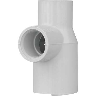 Charlotte Pipe 3/4 In. x 1/2 In. x 1/2 In. Solvent Weldable CPVC Tee