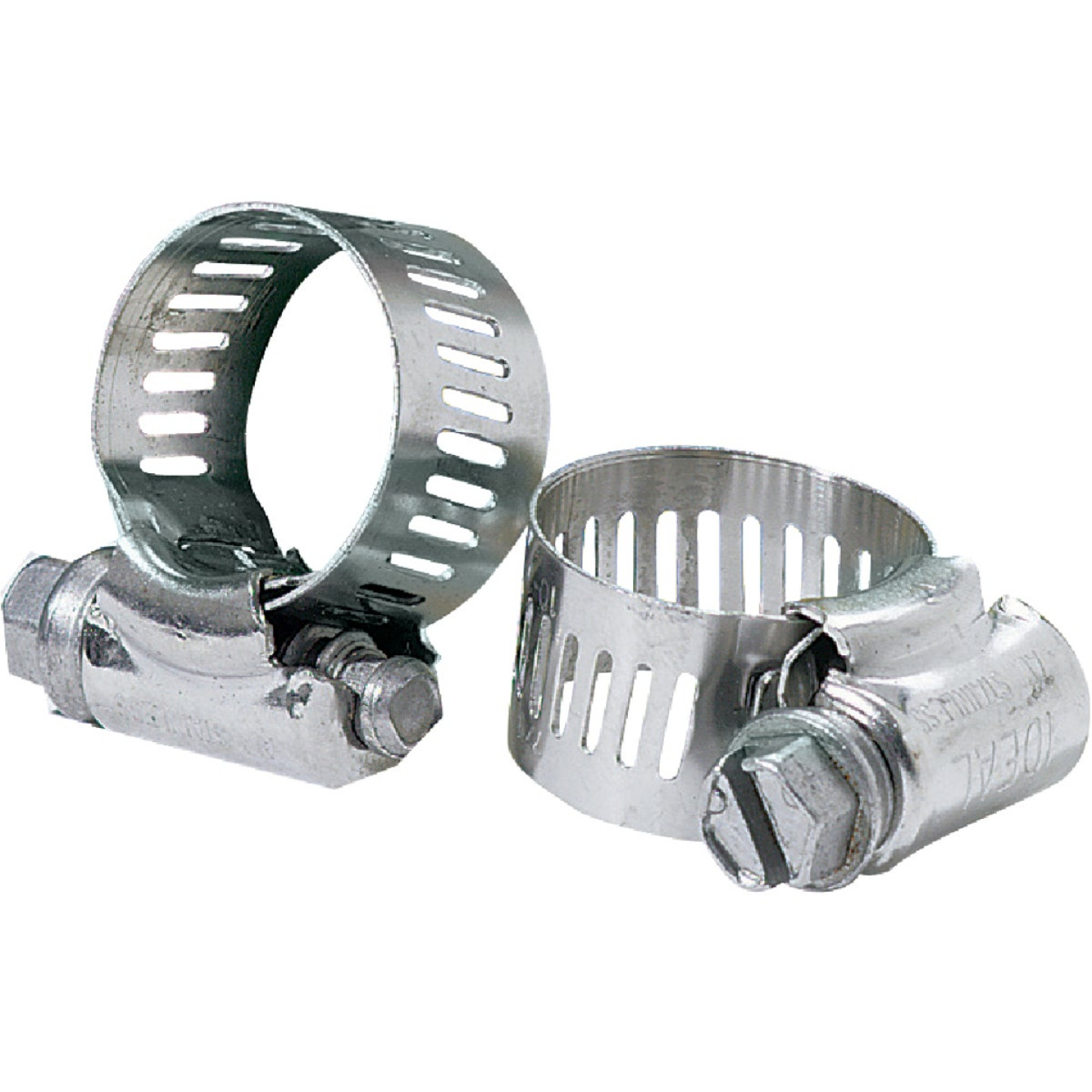 Ideal 4-1/2 In. - 6-1/2 In. 67 All Stainless Steel Hose Clamp Image 1