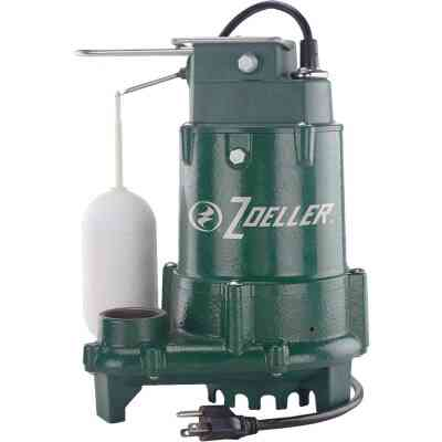 Zoeller 1/2 HP Pro 115V Cast Iron Submersible Sump Pump