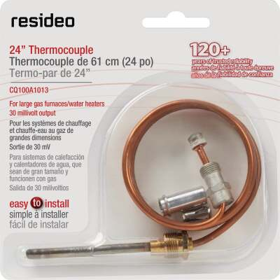 Honeywell 24 In. 30mV Universal Thermocouple