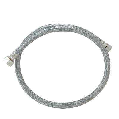 Do it Best 3/8 In. C X 1/2 In. F X 36 In. L Stainless Steel Faucet Connector