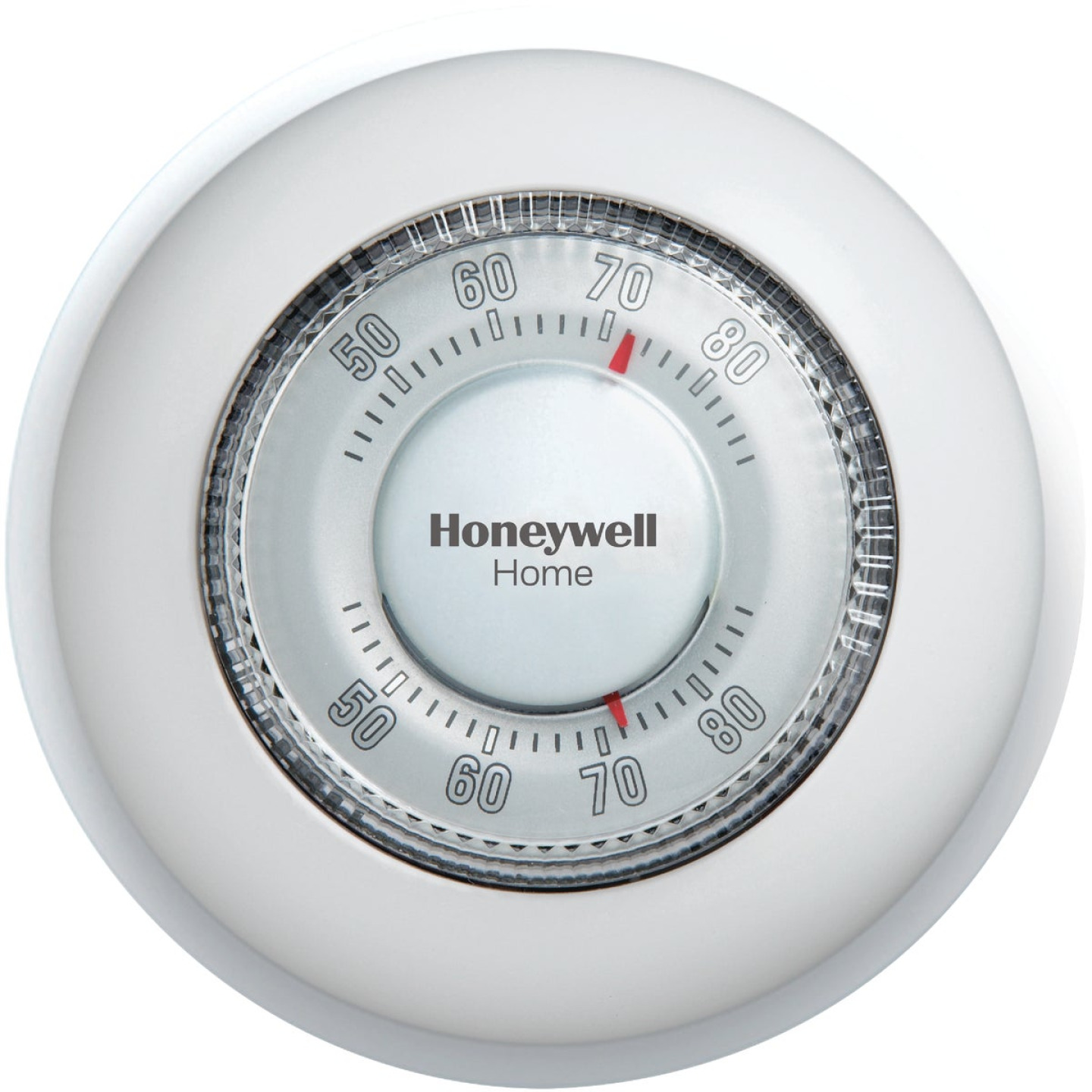 Honeywell Heat Only Off White Round Wall Thermostat Image 1