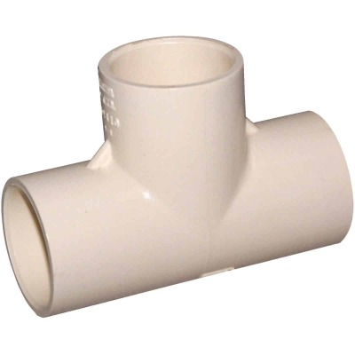 Charlotte Pipe 1 In. x 1 In. x 1 In. Solvent Weldable CPVC Tee