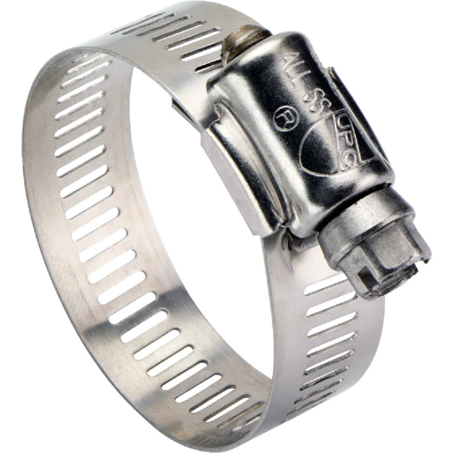 Ideal 1/2 In. - 7/8 In. All Stainless Steel Marine-Grade Hose Clamp Image 1