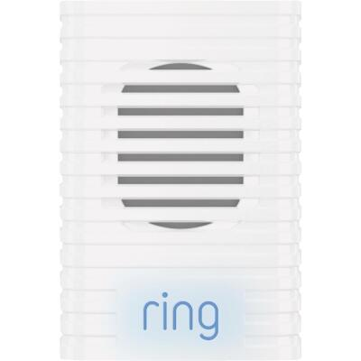 Ring White Plug-In Video Doorbell Chime