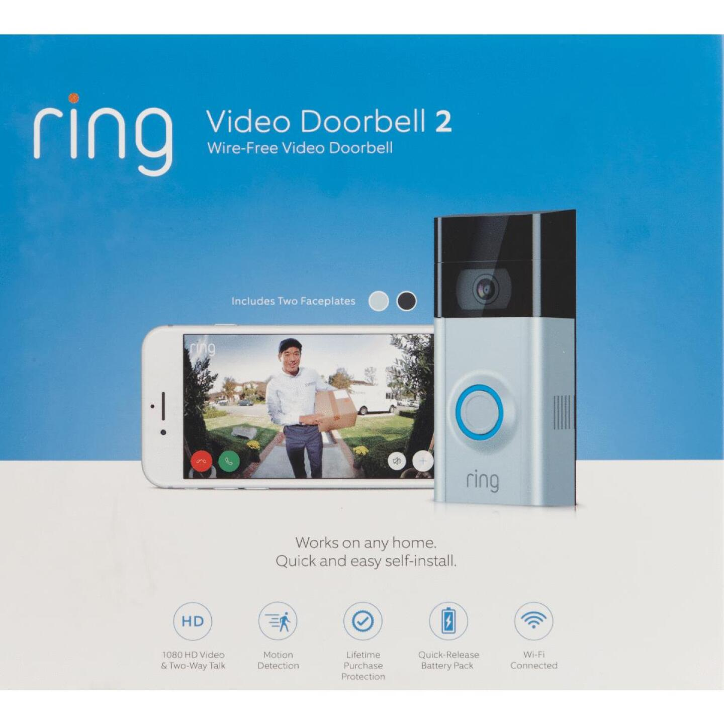 Ring Assorted Color Wireless Video Doorbell 2 Image 2