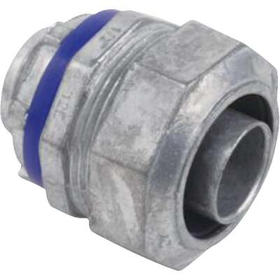 Halex 1/2 In. Straight Die-Cast Zinc Liquid Tight Connector