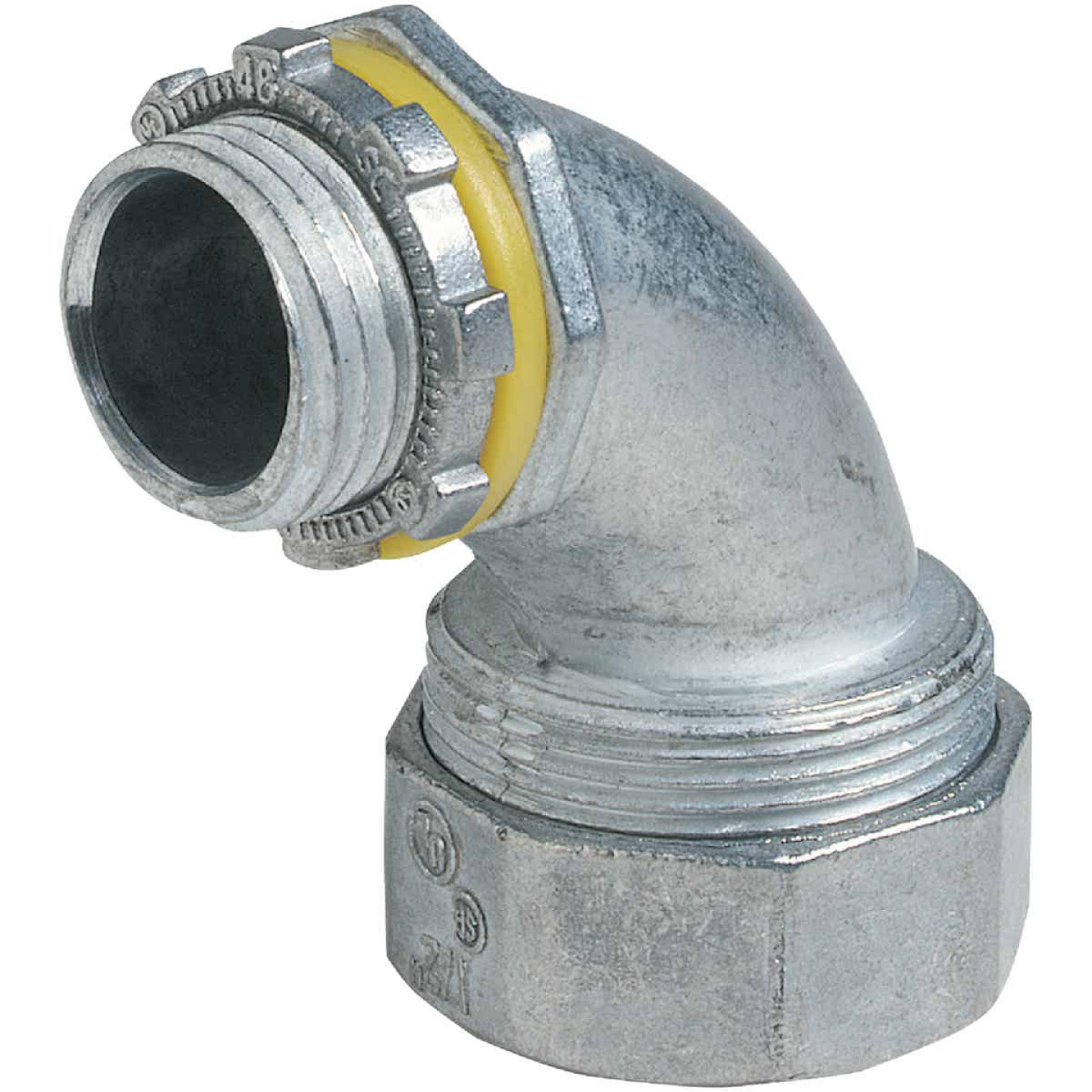 Halex 3/4 In. 90 Deg Die-Cast Zinc Liquid Tight Connector Image 1