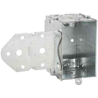 Raco 1-Gang Steel Welded Wall Box