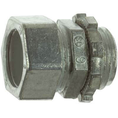 Halex 1 In. Compression EMT Conduit Connector