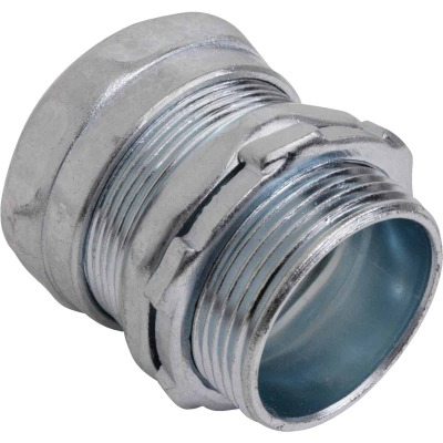 Halex 1-1/4 In. Compression EMT Conduit Connector