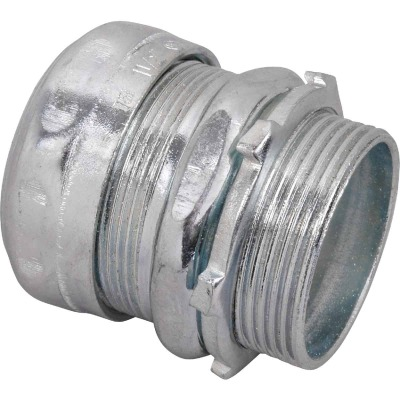 Halex 1-1/2 In. Compression EMT Conduit Connector