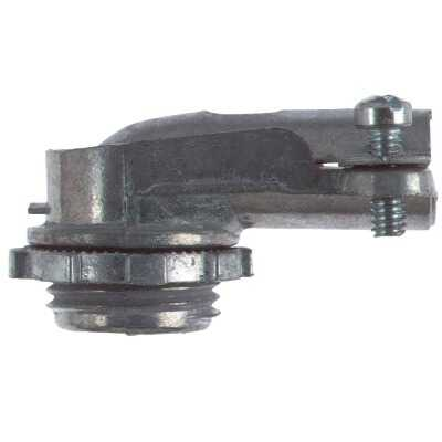 Halex 3/4 In. Clamp 90 Degree Armored Cable/Conduit Connector
