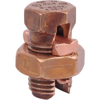Blackburn 6 Sol. to 8 Sol. Silicon Bronze Alloy High-Strength Split Bolt Connector