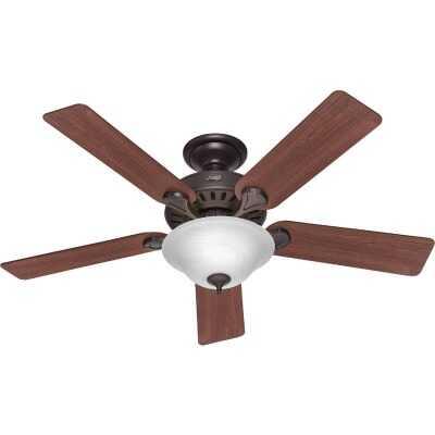 Hunter Pro's Best 5-Minute 52 In. New Bronze Ceiling Fan with Light Kit