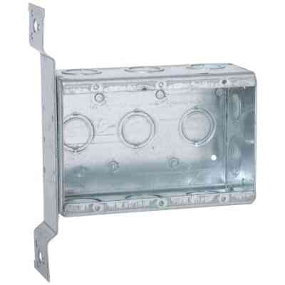 Raco 3-Gang Steel Drawn Wall Box