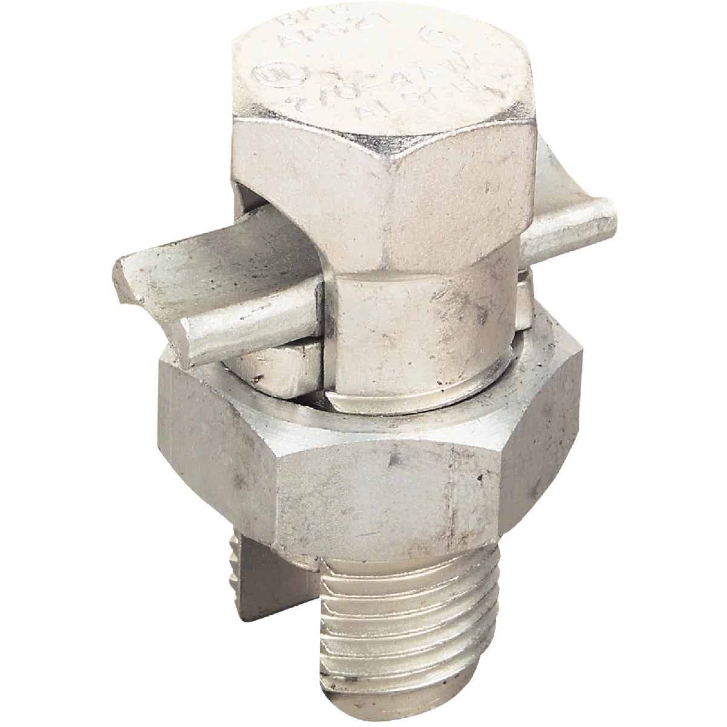 Blackburn 4 to 10 Str. AWG Tin Plated Aluminum Corrosion-Resistant Split Bolt Connector Image 1
