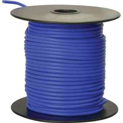 ROAD POWER 100 Ft. 16 Ga. PVC-Coated Primary Wire, Blue